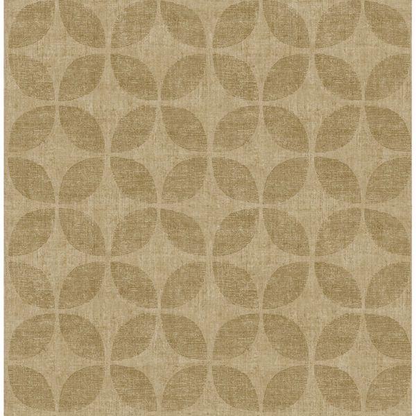 Picture of Polaris Gold Geometric Wallpaper
