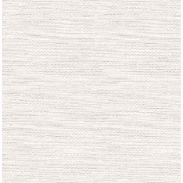 Picture of Agave Off-White Faux Grasscloth Wallpaper