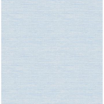Picture of Agave Blue Faux Grasscloth Wallpaper