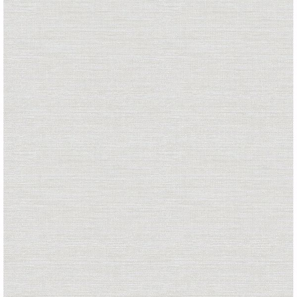 Picture of Agave Light Grey Faux Grasscloth Wallpaper