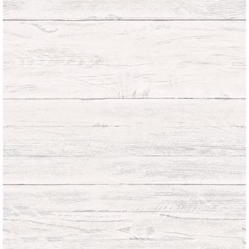 Picture of Colleen White Washed Boards Wallpaper