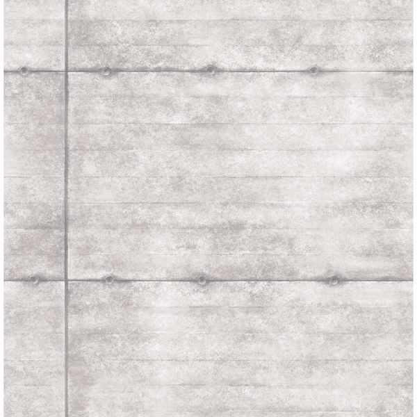 Picture of Reuther Grey Smooth Concrete Wallpaper
