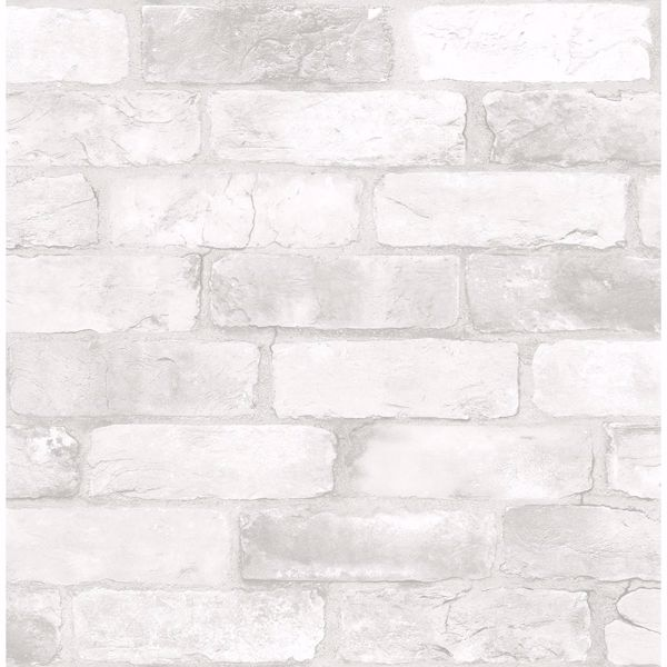 Picture of Rustin White Reclaimed Bricks Wallpaper