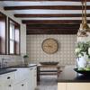 Picture of Cornelius Grey Tin Ceiling Tile Wallpaper