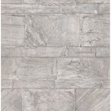 Picture of Clifton Light Grey Sandstone Wallpaper