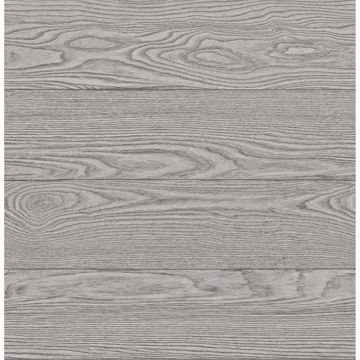 Picture of Ravyn Grey Salvaged Wood Plank Wallpaper