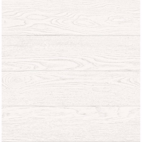 Picture of Ravyn White Salvaged Wood Plank Wallpaper