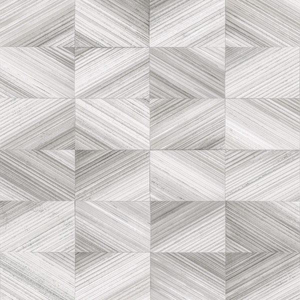 Picture of Stratum Grey Geometric Wood Wallpaper
