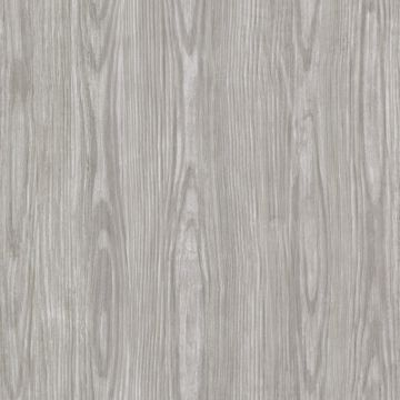 Picture of Tanice Taupe Faux Wood Texture Wallpaper