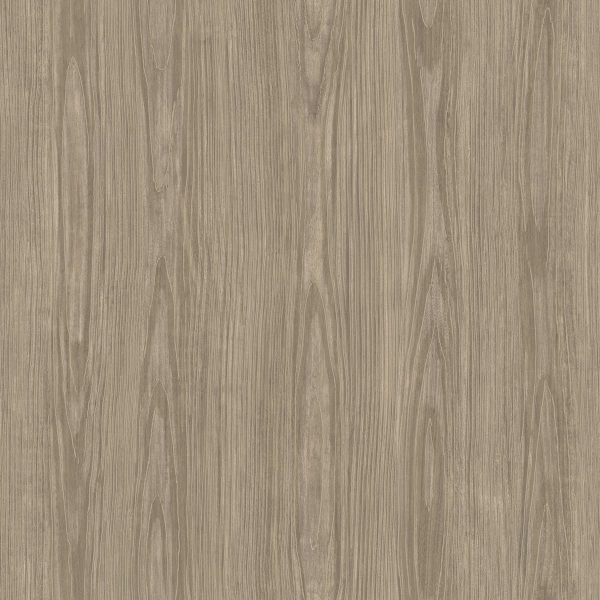 Picture of Tanice Light Brown Faux Wood Texture Wallpaper