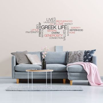 Picture of Greek Life Collage Wall Art Kit