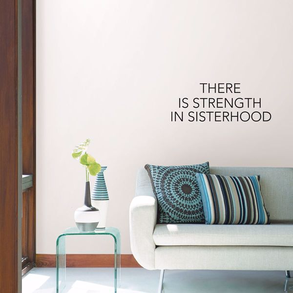 Picture of Sisterhood Wall Quote Decals