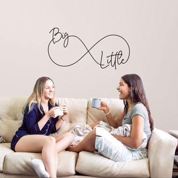 Picture of Big Little Wall Quote Decals