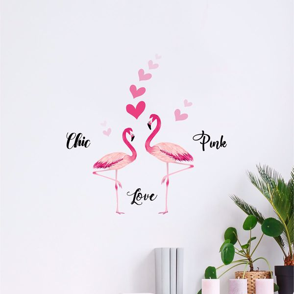 Picture of Flamingos Wall Decals