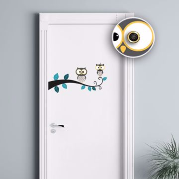Picture of Eye Hole Owl Wall Decals
