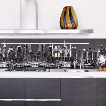 Picture of New York Skyline Peel and Stick Backsplash