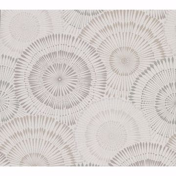 Picture of Howe Neutral Medallions Wallpaper