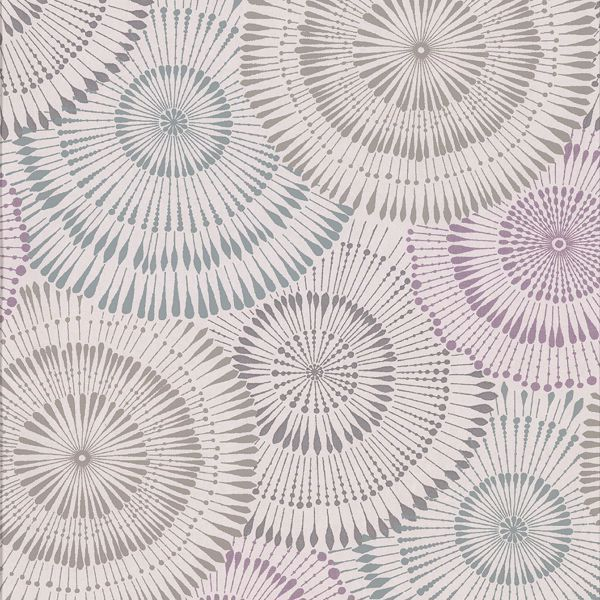 Picture of Howe Multicolor Medallions Wallpaper