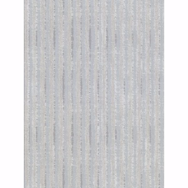 Picture of Annabeth Light Grey Distressed Stripe Wallpaper