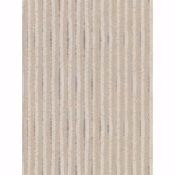 Picture of Annabeth Beige Distressed Stripe Wallpaper