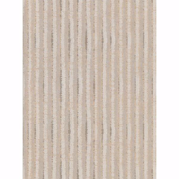 Picture of Annabeth Beige Distressed Stripe Wallpaper