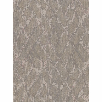 Picture of Bunter Light Brown Distressed Geometric Wallpaper
