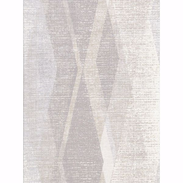 Picture of Torrance Taupe Distressed Geometric Wallpaper