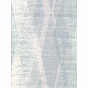 Picture of Torrance Seafoam Distressed Geometric Wallpaper