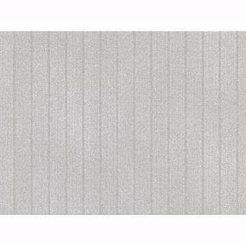 Picture of Ramona Silver Stripe Texture Wallpaper