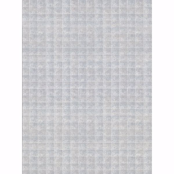 Picture of Nigel Grey Faux Tile Texture Wallpaper