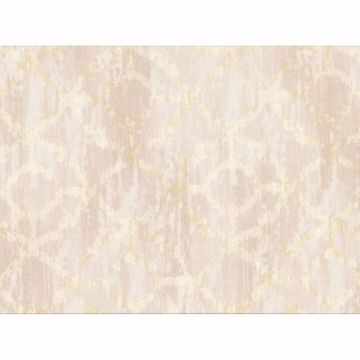 Picture of Dashwood Cream Distressed Geometric Wallpaper