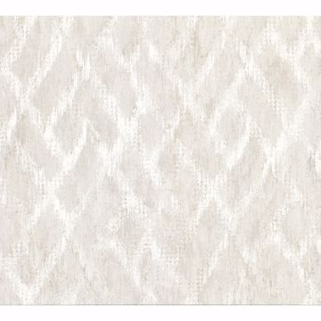Picture of Bunter Bone Distressed Geometric Wallpaper