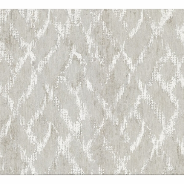 Picture of Bunter Light Grey Distressed Geometric Wallpaper