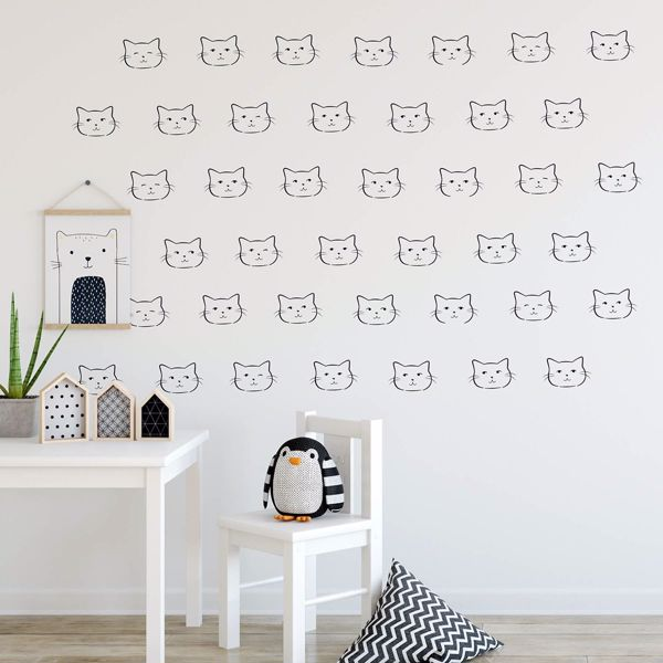 Picture of Witty Kitty Wall Art Kit
