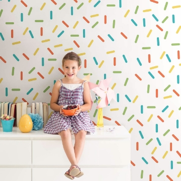 Picture of Sprinkle Rainbow Wall Art Kit