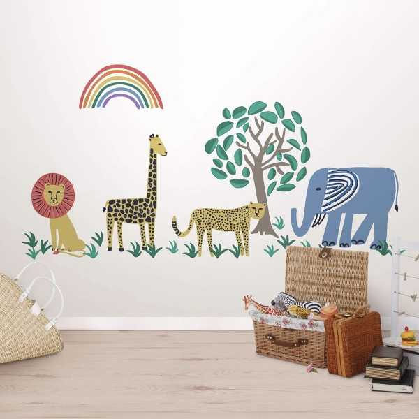 Picture of Safari Kingdom Wall Art Kit