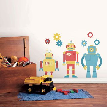 Picture of Bolts And Bots Wall Art Kit
