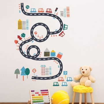 Picture of Happy Drive Wall Art Kit