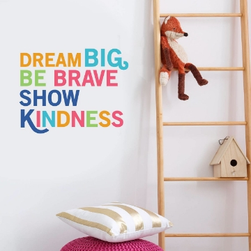 Picture of Dream Big Wall Quote Decals