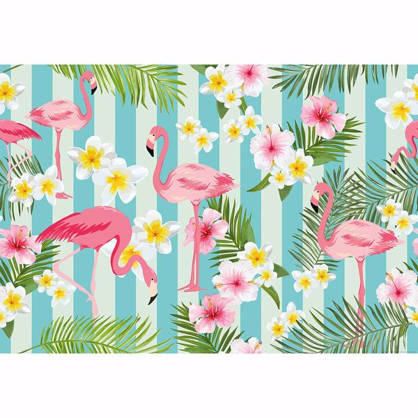 Picture of Flamingos Non Woven Wall Mural