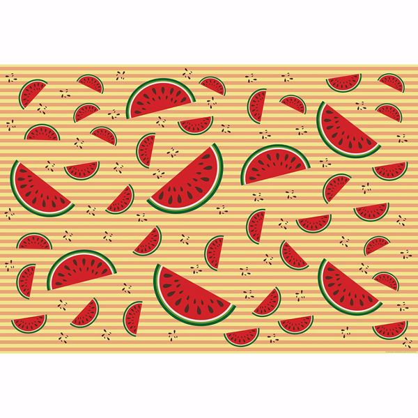 Picture of Watermelons Backdrop Non Woven Wall Mural