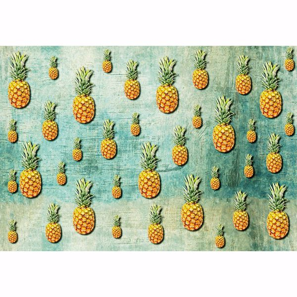 Picture of Tropical Pineapples Non Woven Wall Mural