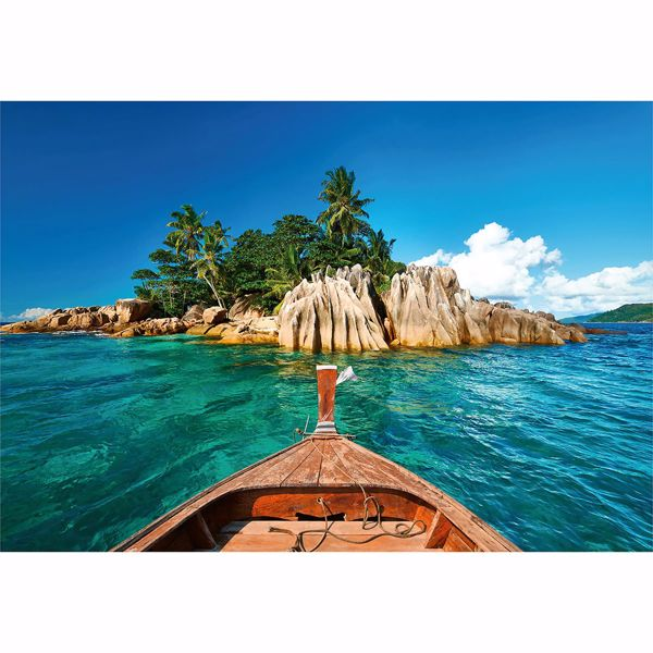 Picture of St. Pierre Island At Seychelles Non Woven Wall Mural