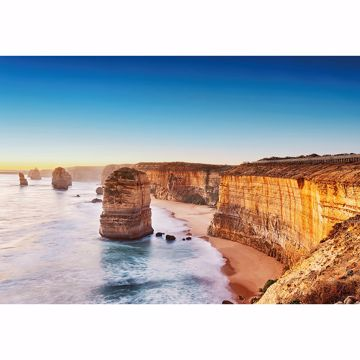 Picture of Cliff At Sunset In Australia Non Woven Wall Mural