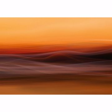 Picture of Orange Fog Non Woven Wall Mural
