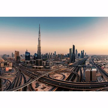 Picture of Dubai United Arab Emirates Non Woven Wall Mural