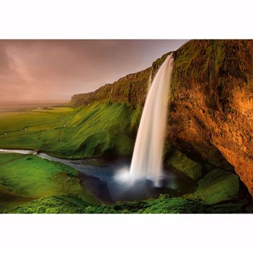 Picture of Waterfall In Iceland Non Woven Wall Mural