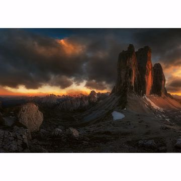 Picture of Dolomites Italy Non Woven Wall Mural