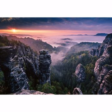 Picture of Sunrise On The Rocks Non Woven Wall Mural