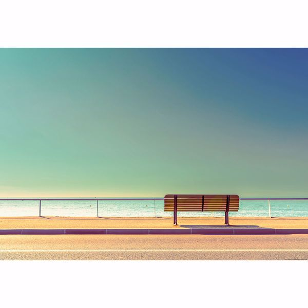 Picture of Bench And Sea Non Woven Wall Mural